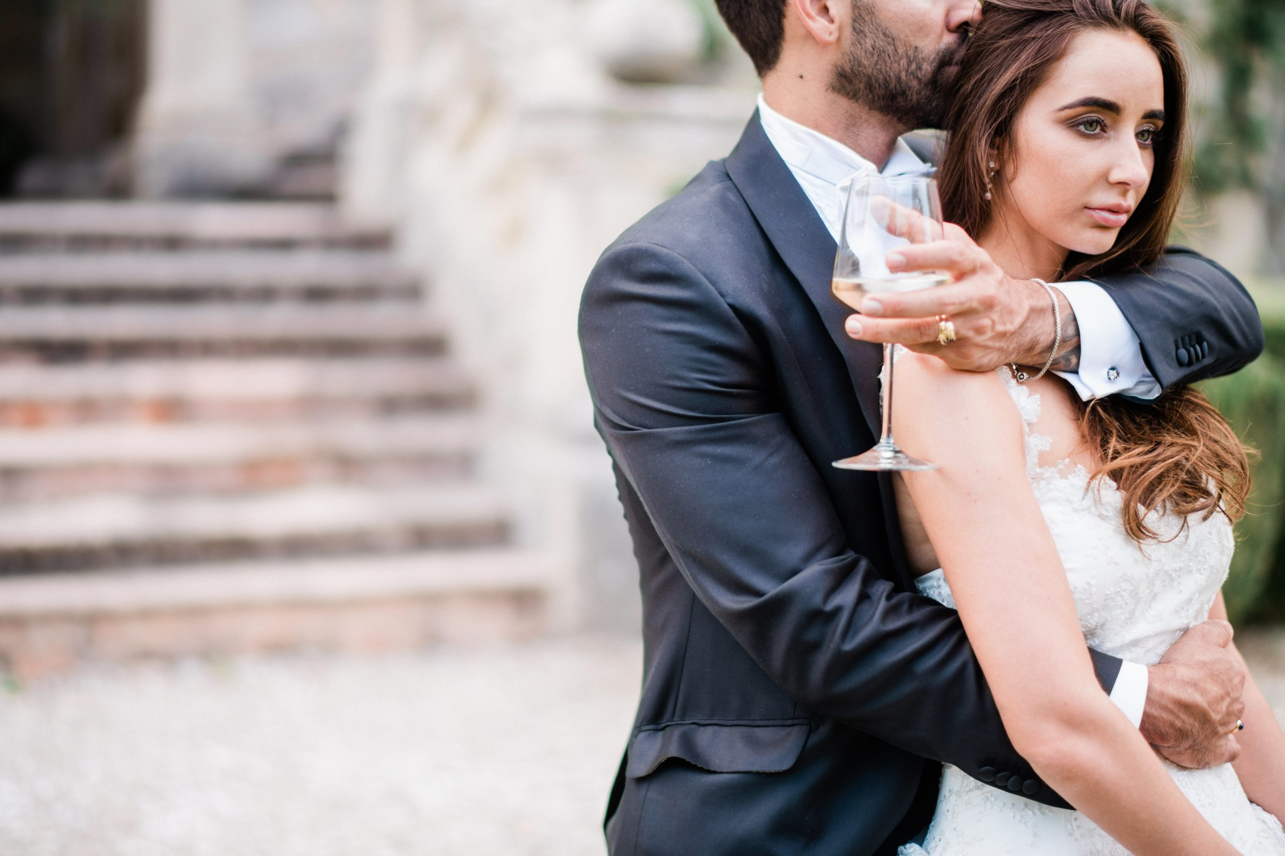 wine-themed elopement in italy