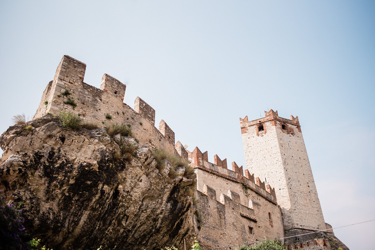 Castle of Malcesine Wedding