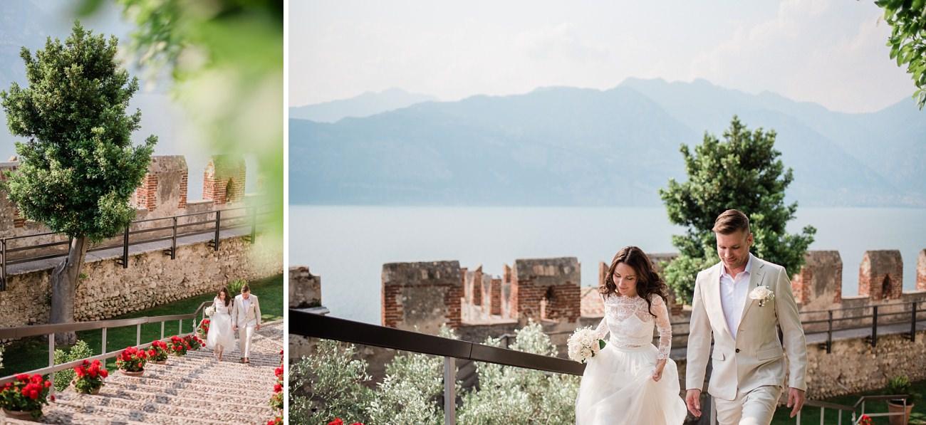 Elopement in Malcesine Lake Garda