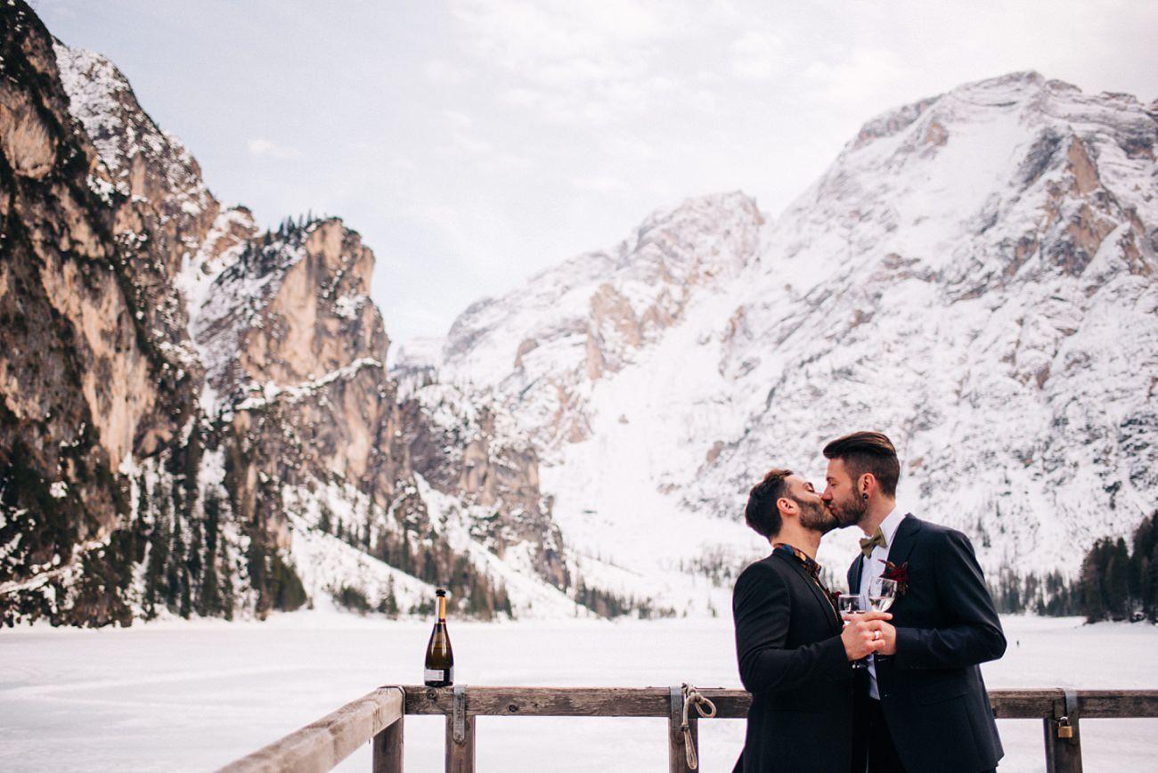 Gay Elopement in Italy