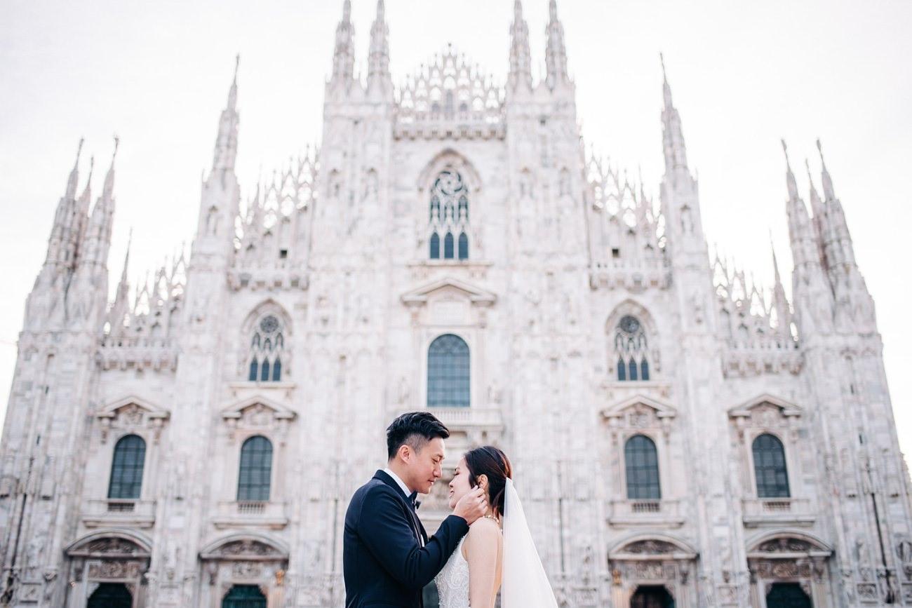 Elopement Photographer in Milan