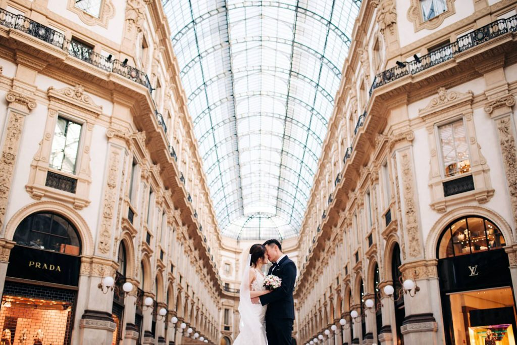 Elopement in Milan Italy